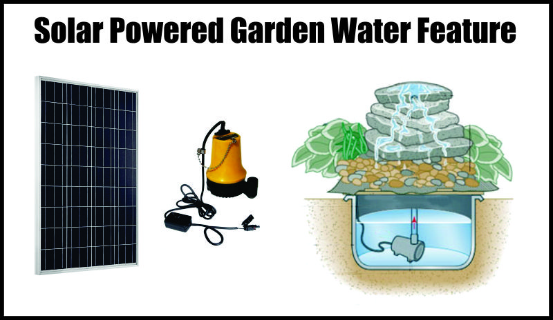 Adding A Solar Water Feature To Your Garden
