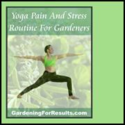 Yoga and Gardening Product