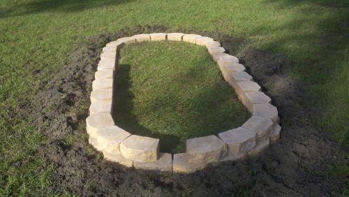 Landscape Blocks Used For Raised Bed